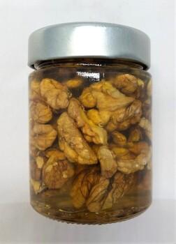 Горный мед с грецким орехом, 140 мл