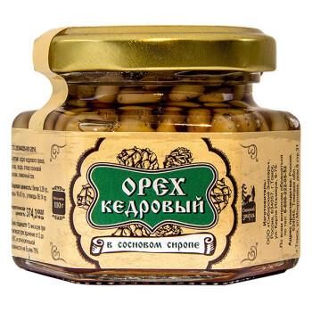 КЕДРОВЫЙ ОРЕХ В СОСНОВОМ СИРОПЕ, 110 г